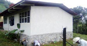 Construyen comedor estudiantil en beneficio de vecinos de Olintla