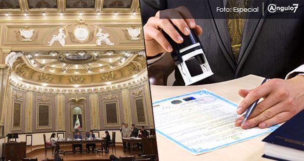 El Ejecutivo ya no decidirá número de notarías; serían reguladas en Congreso