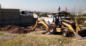 Inicia construcción de foro cultural en San Francisco Totimehuacán