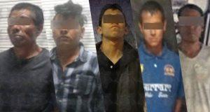 Aseguran a 5 personas por actos fuera de la ley en Puebla y SAC