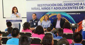 Niños y jóvenes podrán recibir educación en Casas de Asistencia