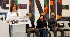 Dinorah López inaugura encuentro de inclusión educativa