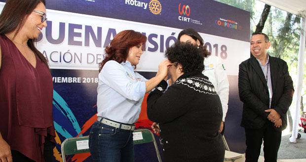 DIF inaugura jornada de salud visual gratuita para 4 mil personas