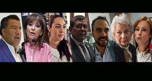 En Congreso, 5 diputados y 2 senadoras se van a gobierno de AMLO