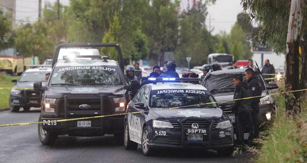 Asesinan a mujer a bordo de camioneta sobre la Recta a Cholula