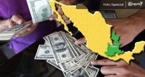 En 9 meses, Puebla capta 1,266 mdd por remesas