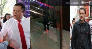 Juárez culpa a Israel Pacheco de ataque a oficinas; exsindicalizados lo niegan