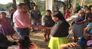 Inauguran pavimentación en avenida de Cuaxicala, Huauchinango