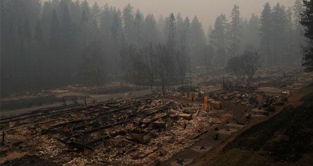 Suman al menos 31 muertos por incendios forestales en California
