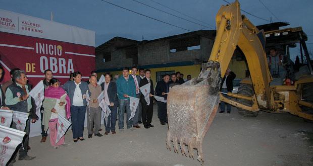 Comuna de SAC inicia obras de drenaje en 3 juntas