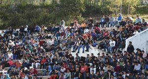Asisten 7 mil jóvenes a sorteo para servicio militar en Puebla capital
