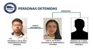 Detienen a banda sudamericana dedicada al robo de relojes en la Atlixcáyotl