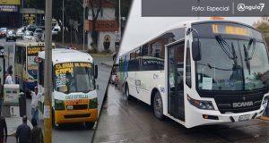 Sin saber nuevo derrotero, transporte público sale del bulevar 5 de Mayo
