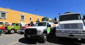Piperos poblanos exigen al gobierno estatal frenar robos de unidades