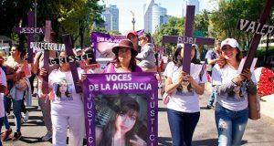 En CDMX y Edomex, marchan contra feminicidios y exigen justicia