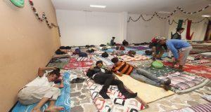 Más de mil migrantes pasan la noche en albergues de Puebla; llegarían 3 mil