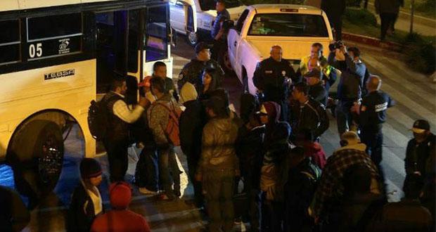 Tijuanenses rechazan estancia de migrantes