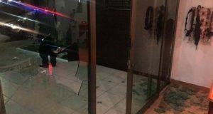 Vandalizan oficinas del sindicato del ayuntamiento y amenazan a Gonzalo Juárez