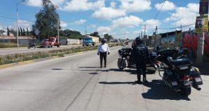 SSP realiza operativos de revisión de motos en Flor del Bosque