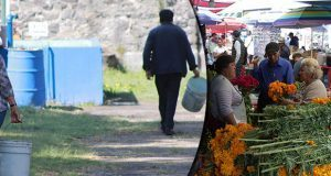 Gobierno estatal vigila saneamiento en panteones y puestos de comida