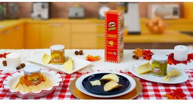 Pringles venderá online papitas sabor pavo y pastel de calabaza