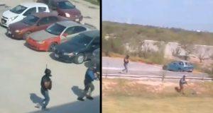 Persecución de sujeto casusa pánico en universidad de Tamaulipas