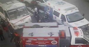 Camión de Ruta 54 arrolla y mata a persona sobre bulevar Valsequillo