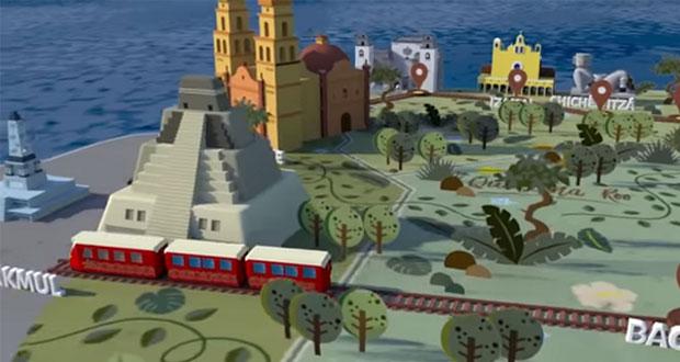 A una semana de consulta, presentan en Q. Roo proyecto de Tren Maya