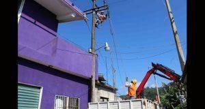 Ampliación de red eléctrica en Huitzilan de Serdán lleva 75%: edil