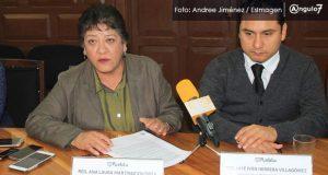 Regidora responsabiliza a medios por percepción de inseguridad en Puebla