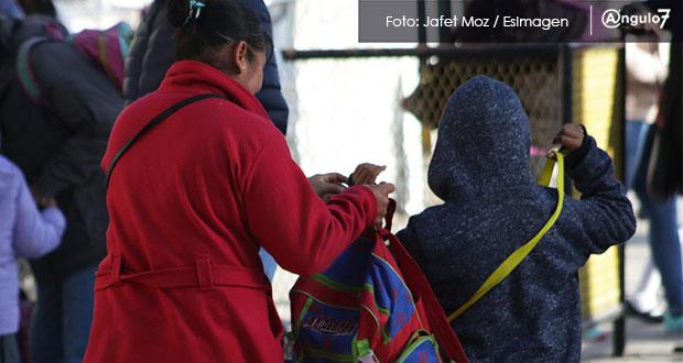 SEP amplía suspensión de clases en 87 municipios por bajas temperaturas