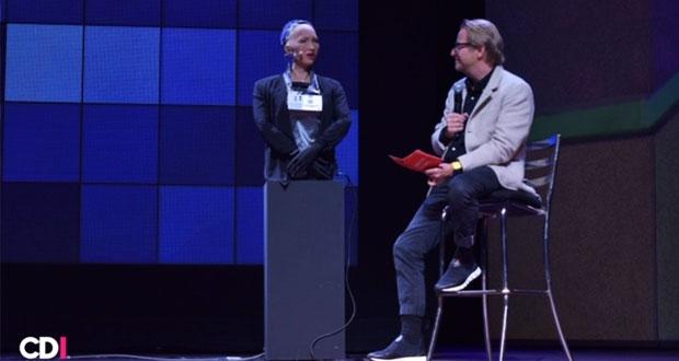 """""""Soy un ciudadano del mundo"""": Sophia, la robot con IA más avanzada"""