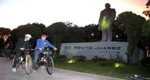 Con rodada, en Puebla recuerdan víctimas de accidentes de tránsito
