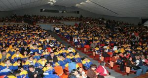 FGE imparte a estudiantes conferencia para prevenir secuestros