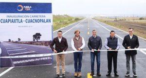 Gali inaugura autopista Cuapiaxtla-Cuacnopalan en San José Chiapa