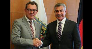 Gali se reúne con embajador de Alemania para fortalecer relación