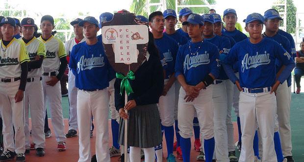 Equipo de Tehuacán gana torneo estatal y va a nacional de beisbol