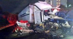 Van 10 muertos por accidente en la México-Toluca