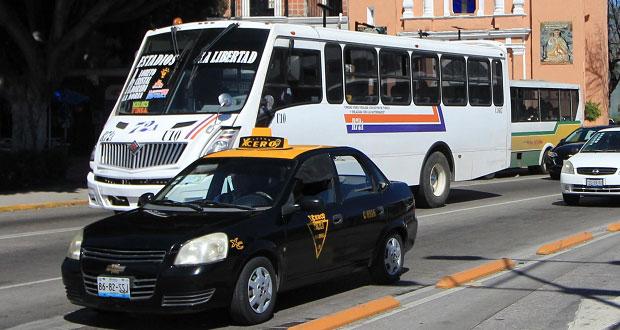 Semovi propone transporte público con conductores capacitados