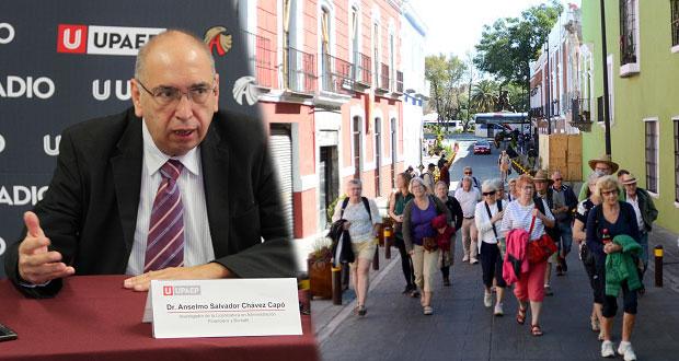 Seguridad, necesaria para atraer turismo a Puebla: experto de Upaep