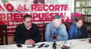 Antorcha anuncia plantón en San Lázaro por recorte presupuestal