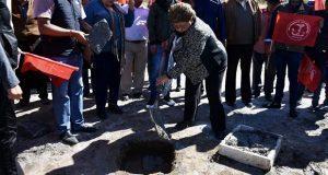 Antorcha inicia construcción de oficinas en colonia de Atlixco