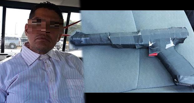 Asalta banco con pistola para Nintendo en Hermosillo y lo detienen