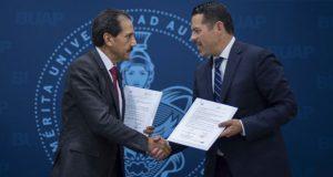 BUAP y TSJ firman convenio de colaboración para servicio social