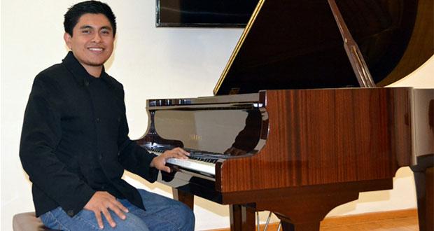 Alumno de la BUAP gana en concurso nacional de composición