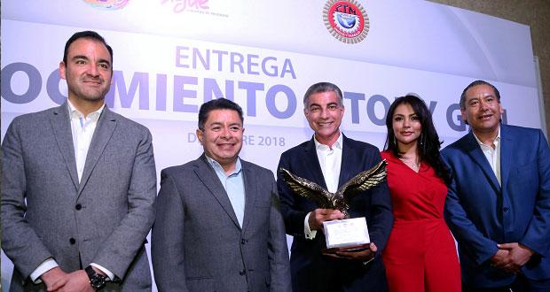 CTM reconoce a Gali por implementar políticas que generaron empleos