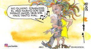Caricatura: El reto de AMLO para 2019
