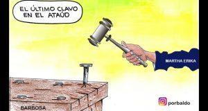 Caricatura: El último clavo a la intención de anular elecciones