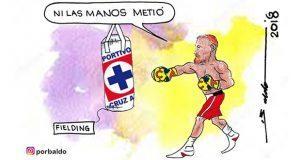 Caricatura: Knockout doble en fin semana