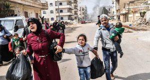 En el mundo, 40 mil personas al día escapan de guerras: ONU